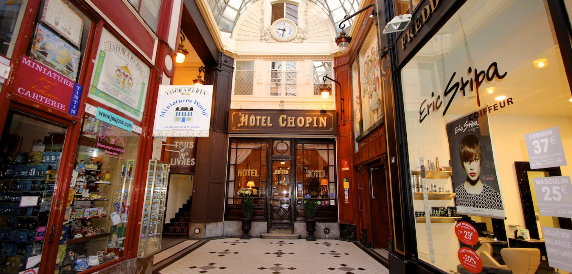 Hotel Chopin Paris Reservation